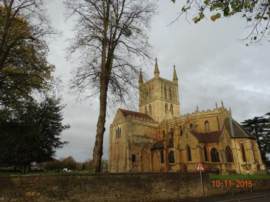 Worcestershire, UK : Pershore Abbey