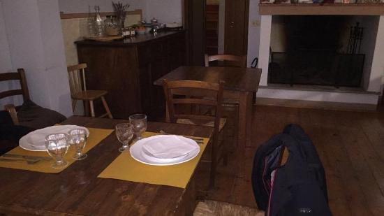 Luco Mugello, อิตาลี: Sala ristorante