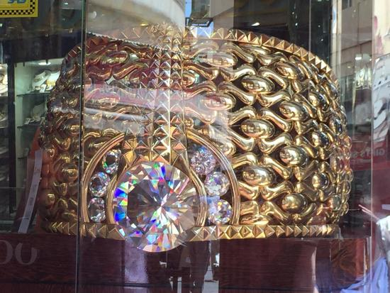 World s largest ring Picture of Gold Souk Dubai TripAdvisor