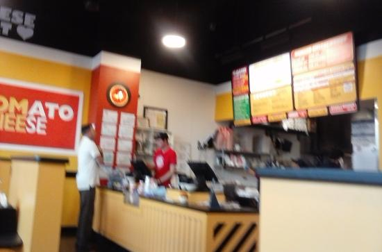 Tom And Chee Ordering Counter Of