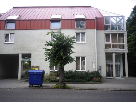 Trebbin, Германия: Здание отеля