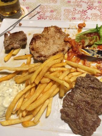 ไกเซนเฮาเซน, เยอรมนี: Grillteller
