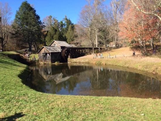 Mabry Mill Restaurant: Mabry Mill - October 2015
