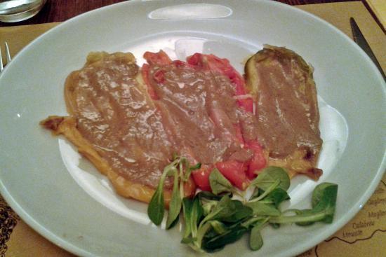 Peperoni in bagna cauda foto di l 39 acino restaurant - Ristorante bagna cauda torino ...