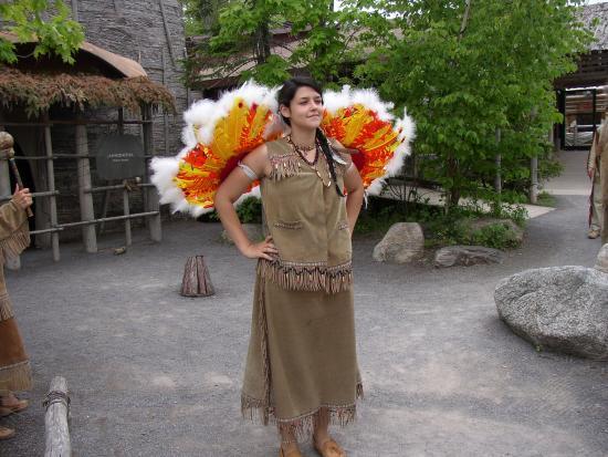 Site Traditionnel Huron: Une danse