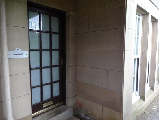 Kilconquhar, UK: Front door of Club Room 12