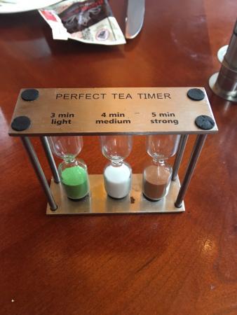 Six.One.Six Restaurant : The tea timer from 616 restaurant