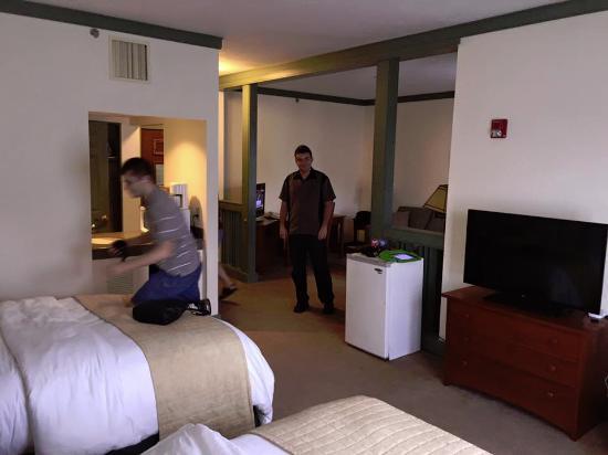 Craftsman Inn: room