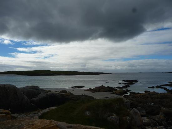 Roundstone, Irlandia: dog's bay.