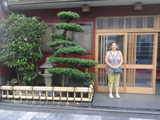 Nishikiro Ryokan: outside inn