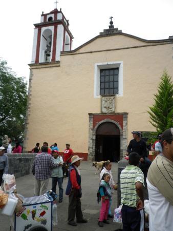 Pueblo Magico de Huasca: la chiesa ss