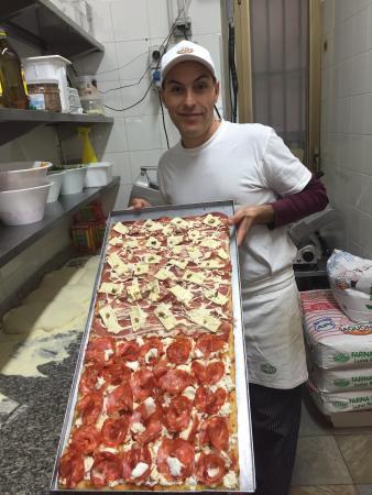 Pizzeria Italia dal 1987: Mozzarella di bufala e ventricina