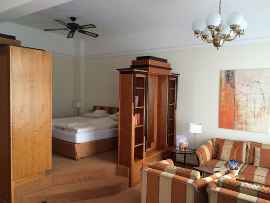 Villa Viktoria: Schlafecke und Sitzberech