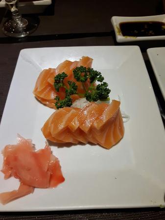 Daisuki : Sashimis saumon