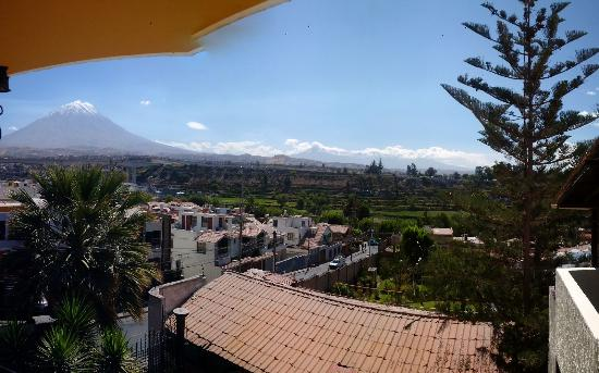 Andenes Hotel: Vista desde suit 304