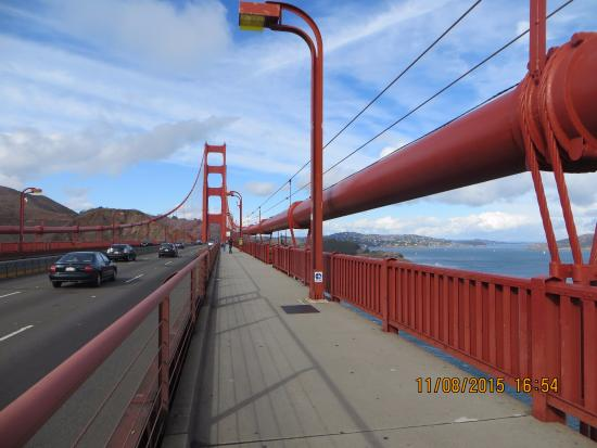 Cable Thickness Picture Of Golden Gate Bridge San