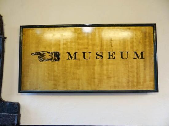 Noordelijk Scheepvaartmuseum: sign