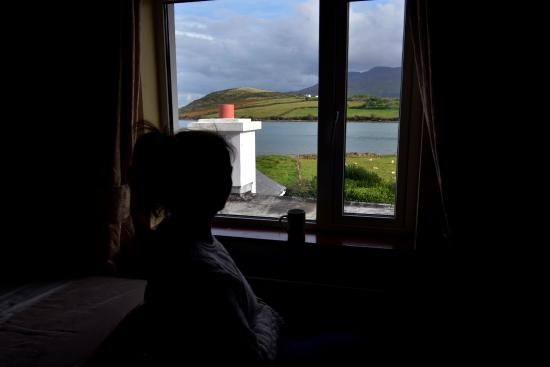 Cloghane, Irland: Water view from room