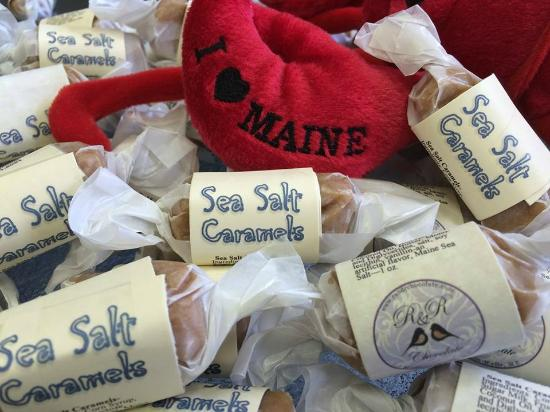 York, ME: Sea Salt Caramels