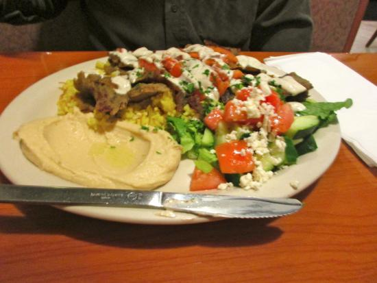 Mediterranean Cuisine: Gyro Platter
