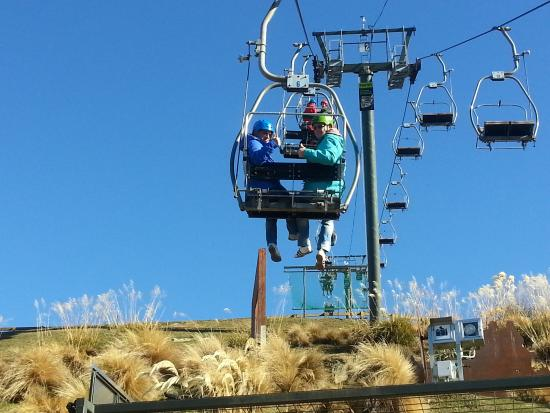 Skyline Queenstown Chairlift Ride With Photo Op Back Up To The Luge Start