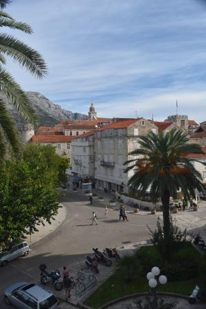 Korcula Royal Apartments: View from room