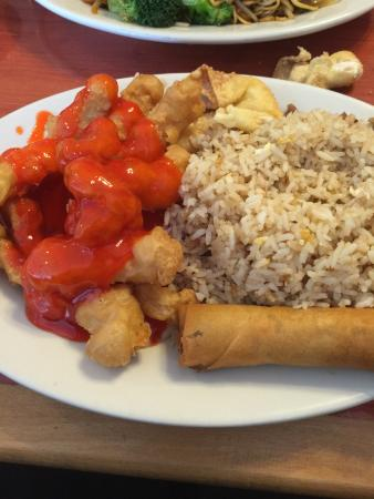 Milton Freewater, OR: sweet and sour chicken lunch special