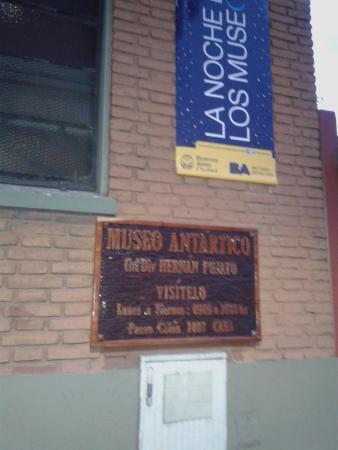 Museo Antartico en Buenos Aires