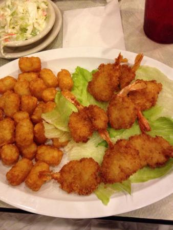 Lake Helen, Floryda: Fried shrimp and tater tots