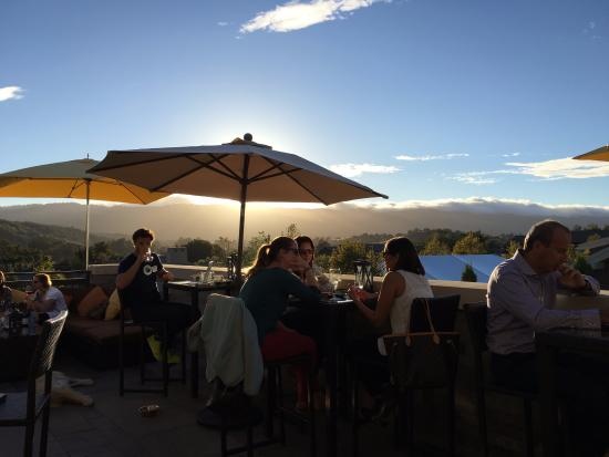 Menlo Park, CA: Sunset on the Madera Patio