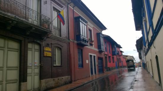Zohar Hostel: Calle en la que se ubica el hostel