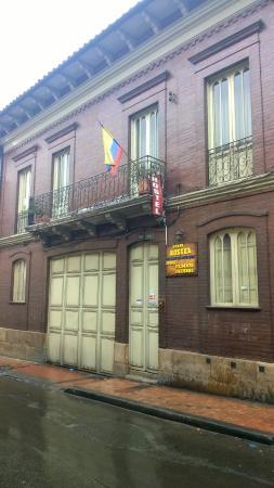 Zohar Hostel: Vista del frente del hostel