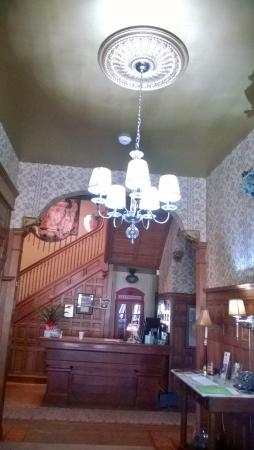 Helena, AR: Check-in entry way