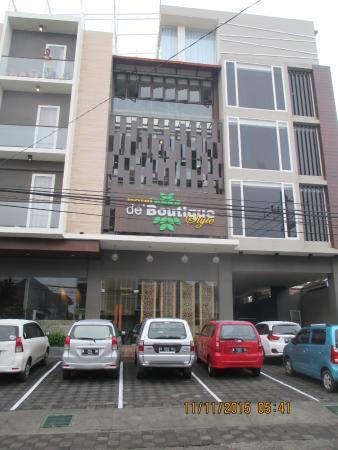 De Boutique Style Hotel Malang Depan