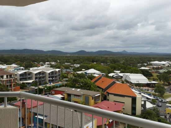 Coolum Beach, Avustralya: Floor 11 Town View
