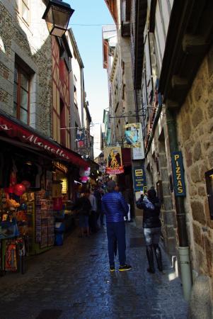 Abbaye mont st michel foto di porte du boulevard mont for Porte unie st michel