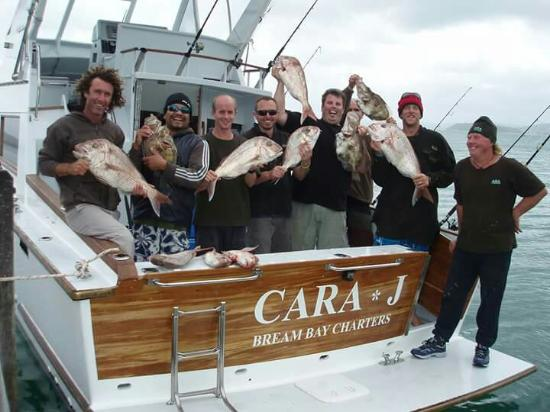 Whangarei, New Zealand: Another happy team aboard Cara*J