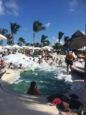 Secrets Maroma Beach Riviera Cancun Foam Party So Much Fun
