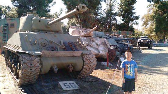 South El Monte, Kalifornien: M4 Shermans