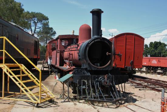 The Railway Museum: One of 20+ locomotives on display