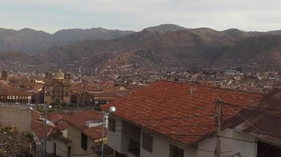 The Walkon Inn Cusco: View from my private room
