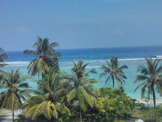 Kaafu Atoll: view from my hotel room