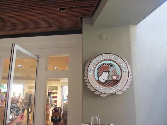 アイランド ビンテージコーヒー・ ロイヤルハワインセンター店, お店のロゴ