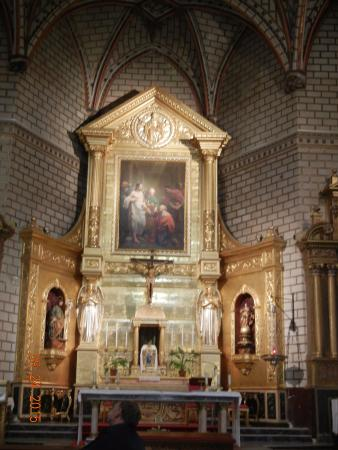 4 Iglesia de Santo Tome-The Altar - Picture of Iglesia de ...