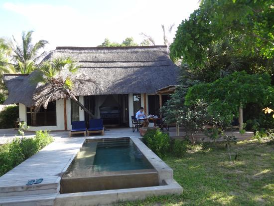 Benguerra Island, Mozambique: private pool