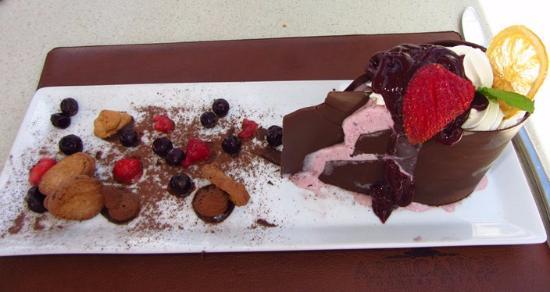 Addo, Sydafrika: Decadent desserts!