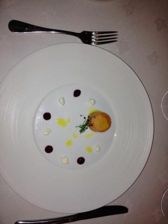 Sanquhar, UK: Meal