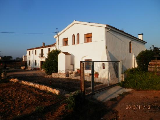 Font-Rubí, España: Vista de la finca