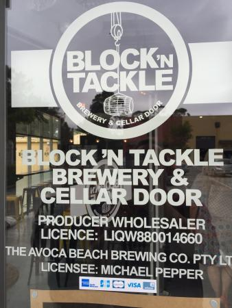 ‪Block 'n Tackle Brewery‬