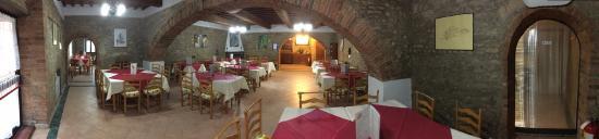 Montespertoli, İtalya: Sala I' Bacco Toscano